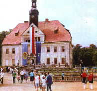 Schloss in Eichholz (Warmatowice)