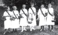 Markersdorfer Jungfrauenverein um 1925