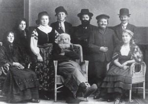Jugendverein Theatergruppe Gersdorf um 1924