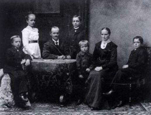 Familie Kliemt zu Beginn des 20. Jahrhunderts