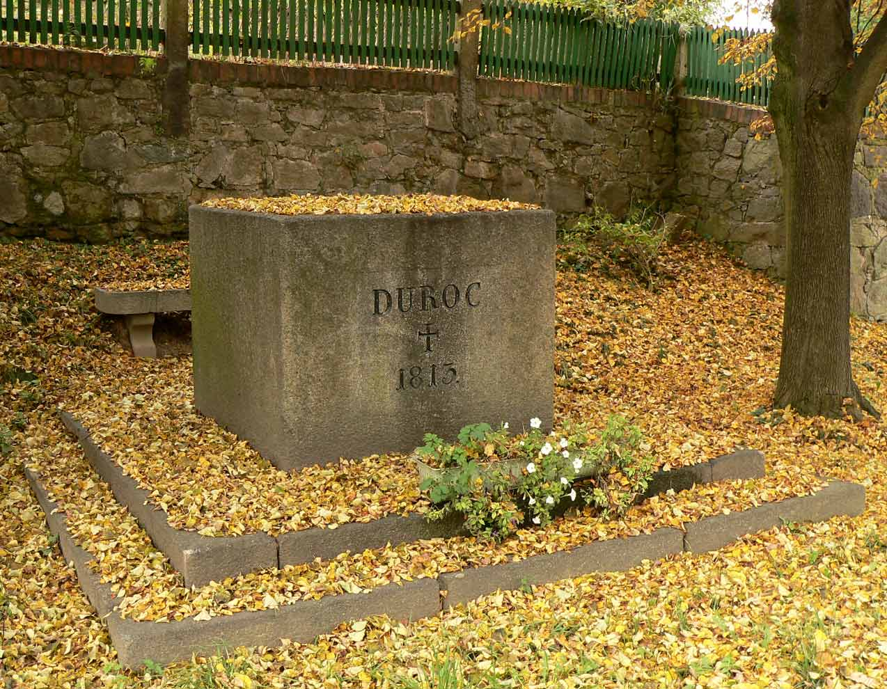 Marschall Duroc Denkmal in Markersdorf