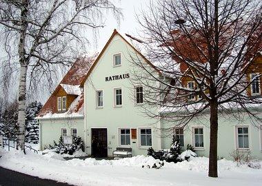 Das Rathaus zu Markersdorf