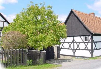 Eingang zum  Dorfmuseum