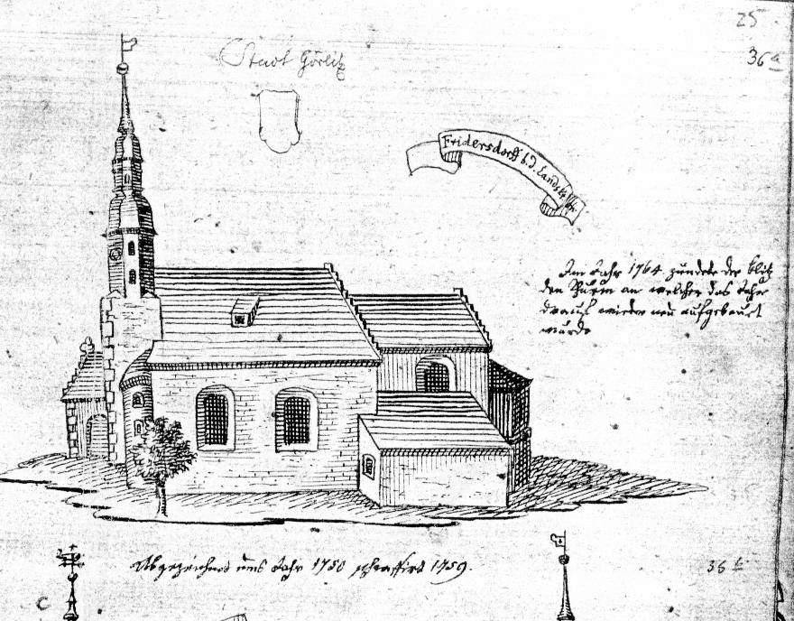 St. Ursula um 1750