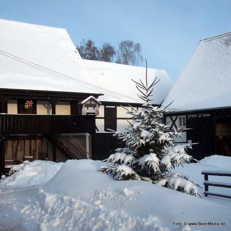 Im Dorfmuseum Markersdorf.