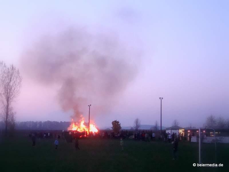 Walpurgisfeuer in Holtendorf