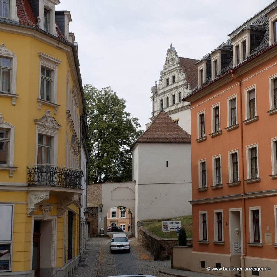 Abbildung: Das Tor zur Bautzener Ortenburg