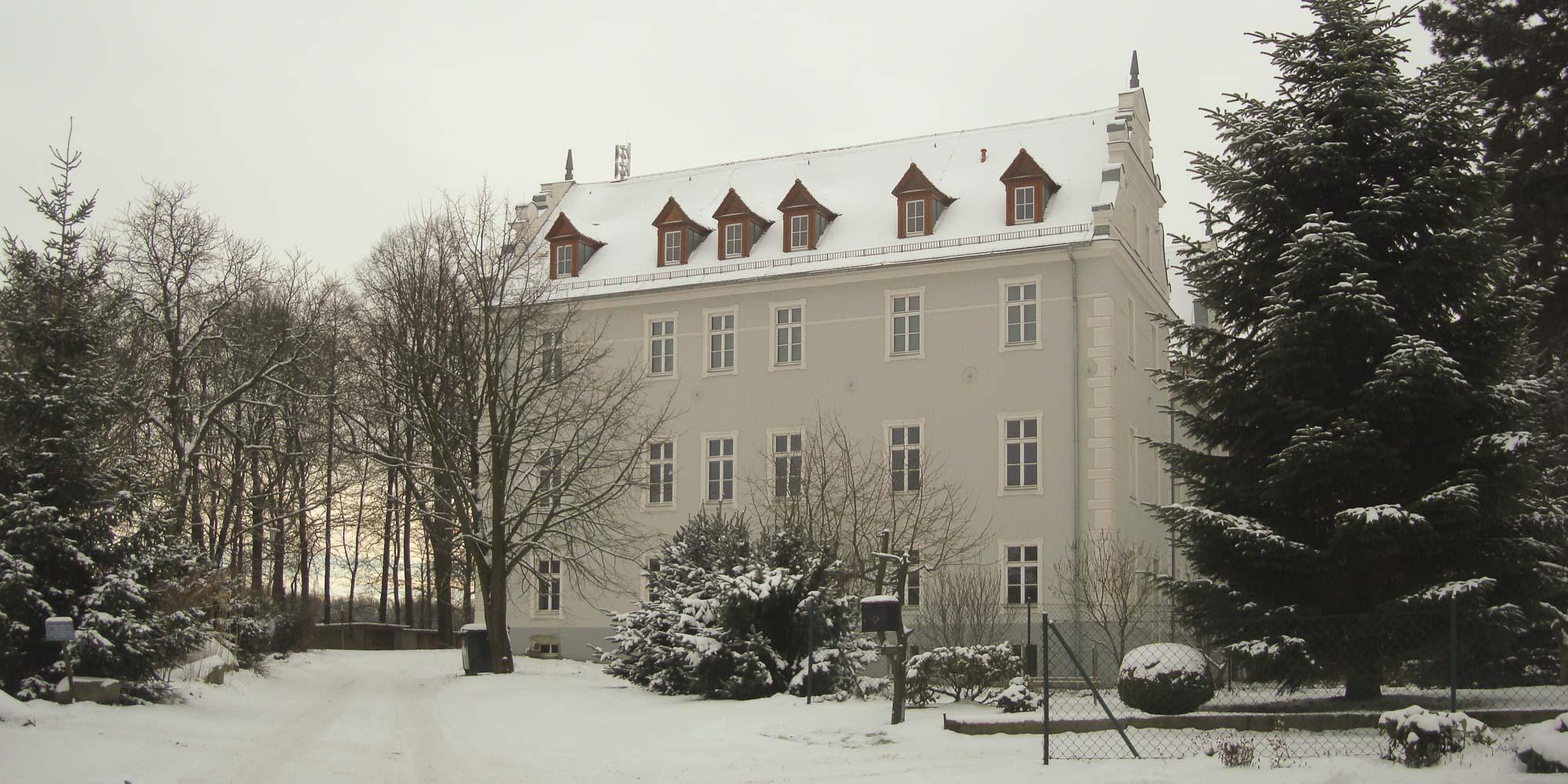 Schloss Gersdorf, Seitenansicht