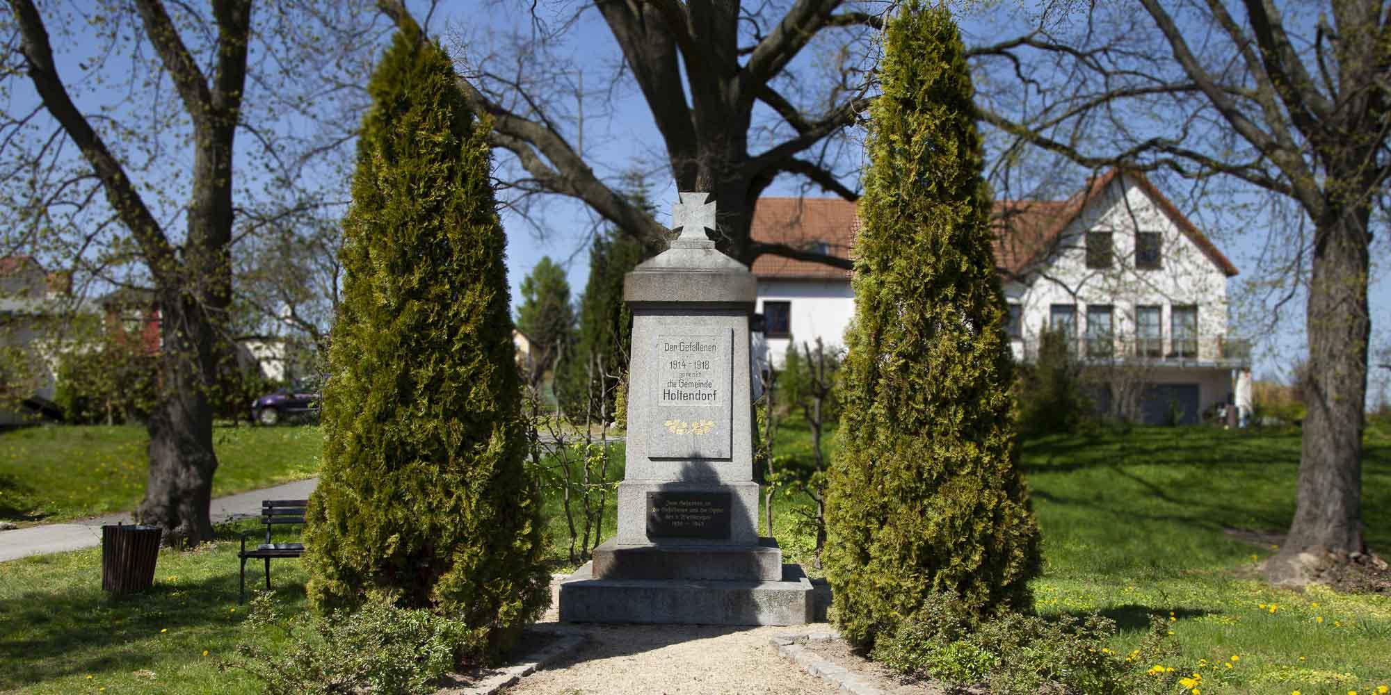 Kriegerdenkmal für die Gefallenen des Ersten Weltkrieges