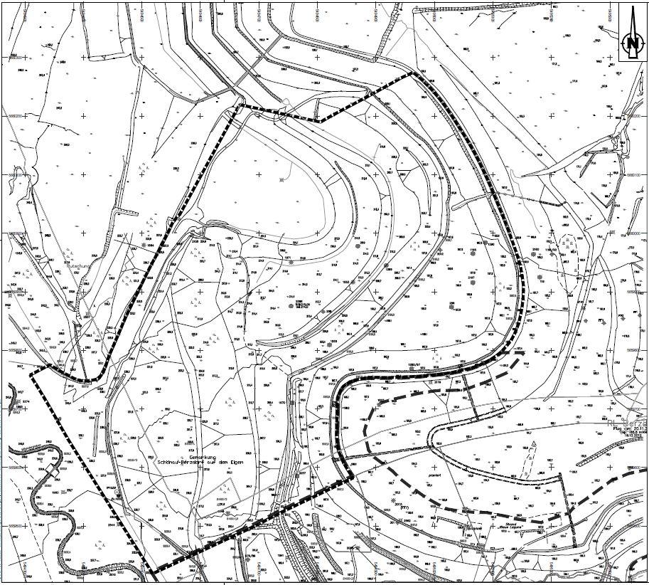 Abbildung 2<br />Stadtgrundkarte: Stadtverwaltung Görlitz Liegenschaftsdaten: Amt für Vermessungswesen und Flurneuordnung, Landratsamt Görlitz Planzeichnung: IBOS, Ingenieurbüro für Tiefbau, Wasserwirtschaft und Umweltfragen, Ostsachsen GmbH