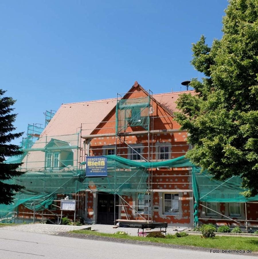 Sanierung und Umbau des Rathauses, Ende Mai 2019
