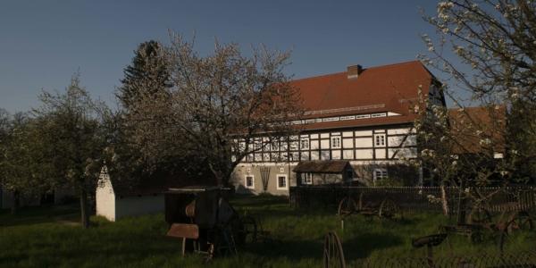 Die Märchentante im Dorfmuseum