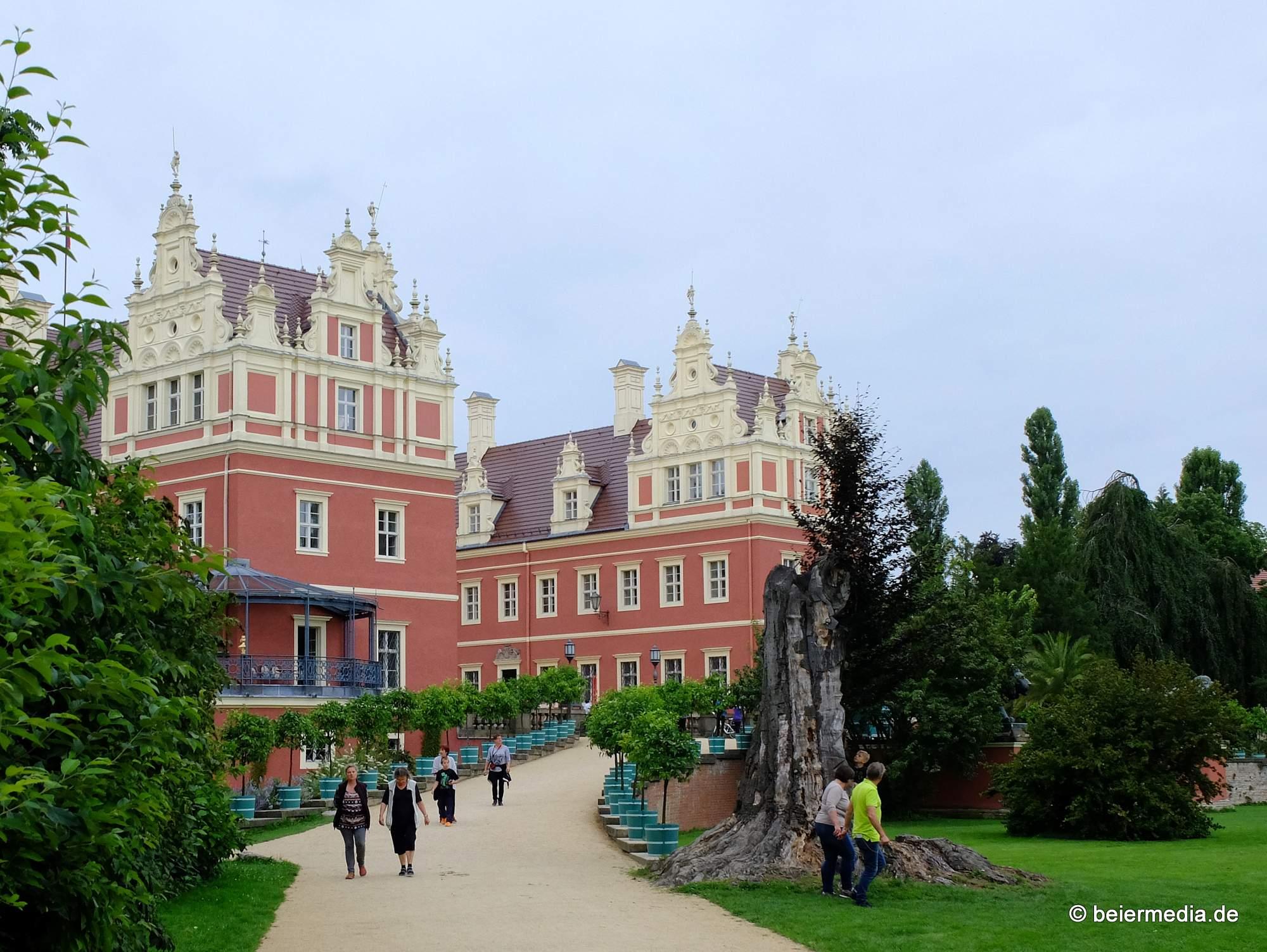 Das Neue Schloss im Fürst-Pückler-Park zu Bad Muskau