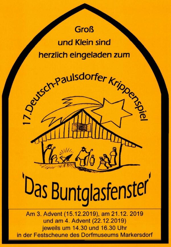 Deutsch-Paulsdorfer Krippenspiel