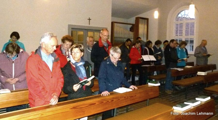 Gedenk- und Feierstunde in der Evangelischen Bergkapelle in Jauernick-Buschbach
