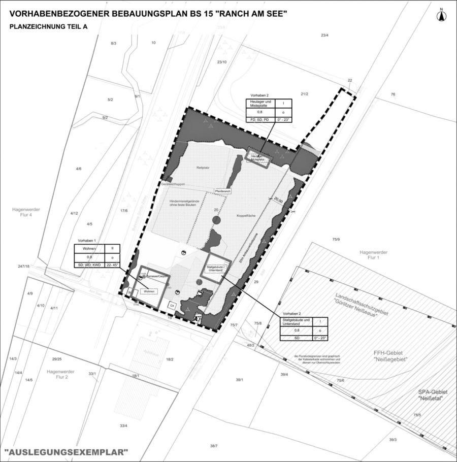 Vorhabensbezogener Bebauungsplan BS15