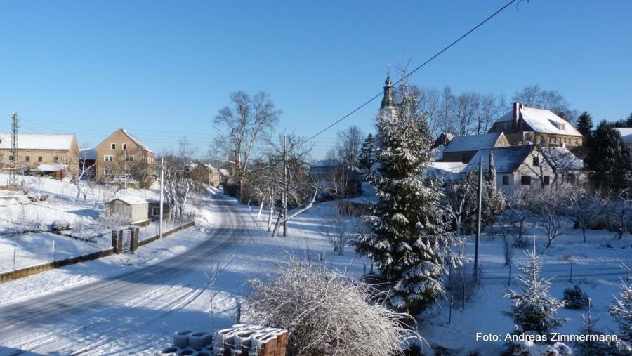 In der Ortschaft Friedersdorf