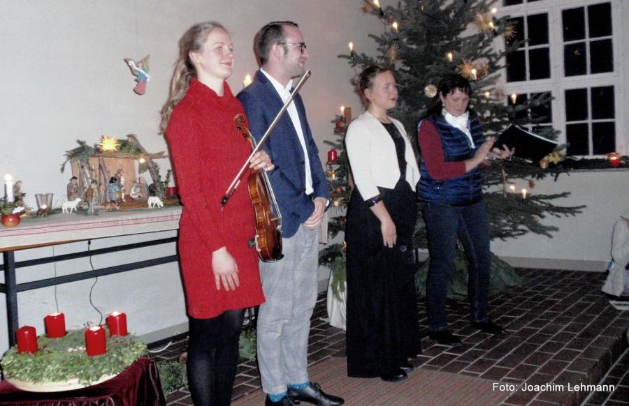 Von links:: Aleksandra Kosiorek, Jakob Kretschmer, Stefanie Laimer und Adelheid Burkhardt