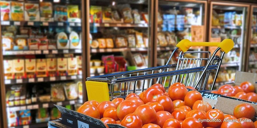 Die Versorgung mit Lebensmitteln und täglichem Bedarf ist sicher