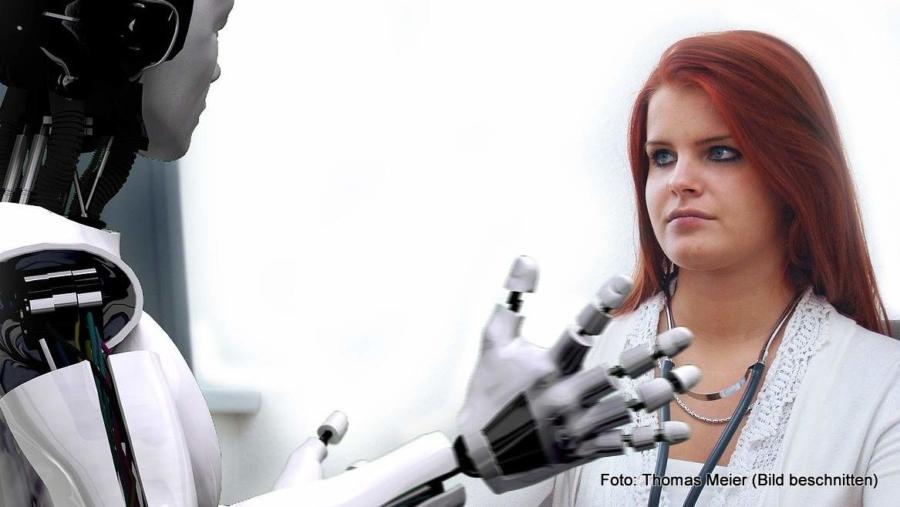 Morbus Rubigo – dass ein Roboter wegen der Rostkrankheit in der Sprechstunde auftauchte, wurde noch nicht berichtet. Dennoch müssen sich Ärzte auf die Digitalisierung einstellen