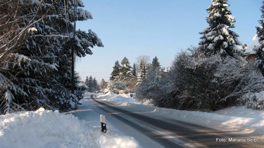 Wann wird's mal wieder richtig Winter – so wie er hier in Pfaffendorf einmal war?