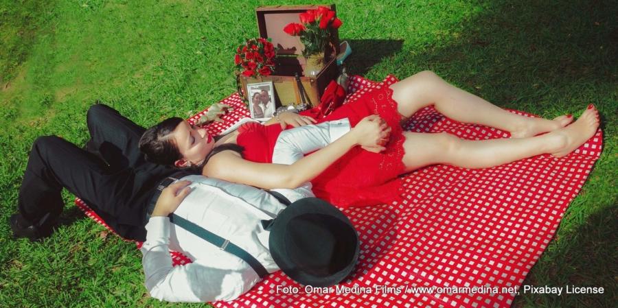 Statt Picknick ist am Valentinstag in unseren Breiten ein gemütlicher Tag zu Hause angesagt