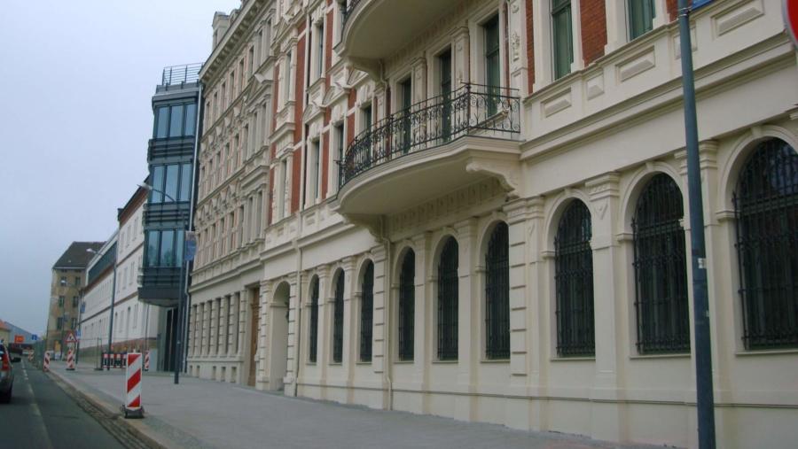 Das Landratsamt in Görlitz