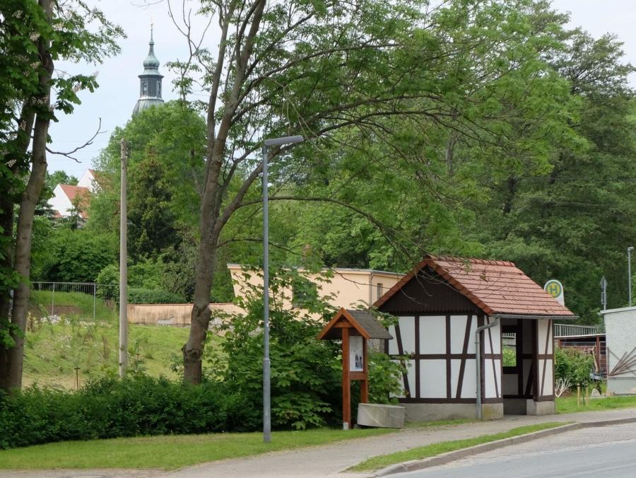 In Friedersdorf, einer der sieben Markersdorfer Ortschaften und zugleich wichtiger Wirtschaftsstandort