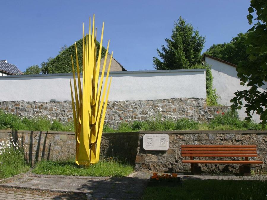 Die Goldene Ähre in Jauernick-Buschbach. Der Parkplatz davor ist nun ebenfalls ins Bestandsverzeichnis der Gemeinde Markersdorf eingetragen