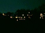 Winternacht in Markersdorf.