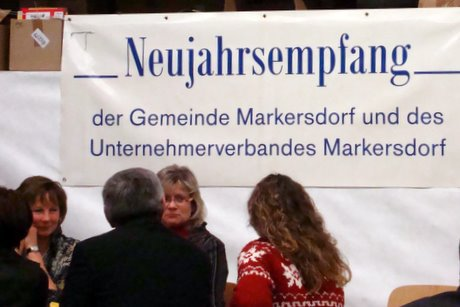 Typisch Markersdorf eben: Alle ziehen an einem Strang und Schritt für Schritt entwickelt sich die Großgemeinde am Fuße der Landeskrone.