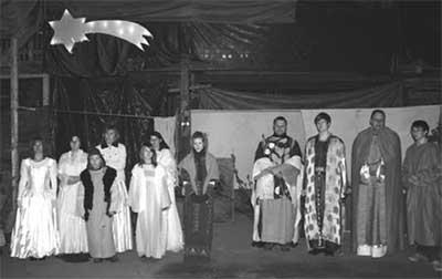 Tradition zur Weihnachtszeit: Das Deutch-Paulsdorfer Krippenspiel