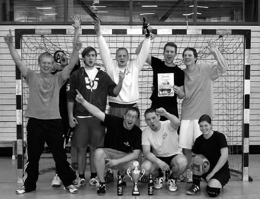 Die Siegermannschaft 2010 heißt
