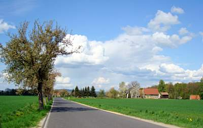 Die Einwohner von Deutsch-Paulsdorf schätzen die ländliche Ruhe der Ortslage.