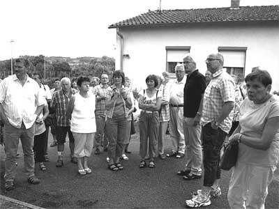 Besichtigung der Erligheimer Grundschule. Foto: Meyer