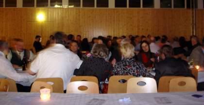 Tolle Stimmung bei den Gästen aus Krotoczyce - mittendrin der Markersdorfer Bürgermeister.