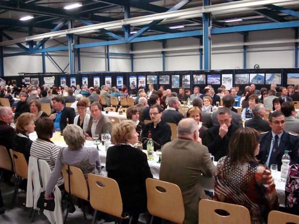 Mit dem Neujahrsempfang ehrt die Gemeinde Markersdorf in jedem Jahr verdiente Bürgerinnen und Bürger, so im Jahr 2012 das Redaktionsteam des