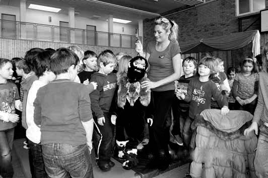 Viel Spaß hatten Kinder der Grundschule Markersdorf gemeinsam mit den zukünftigen Schulanfängern der Kita