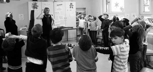 Viel Spaß mit der Kinderbuchautorin Sylvia Eggert hatten die Schüler der Klasse 2b an der Grundschule Markersdorf.
