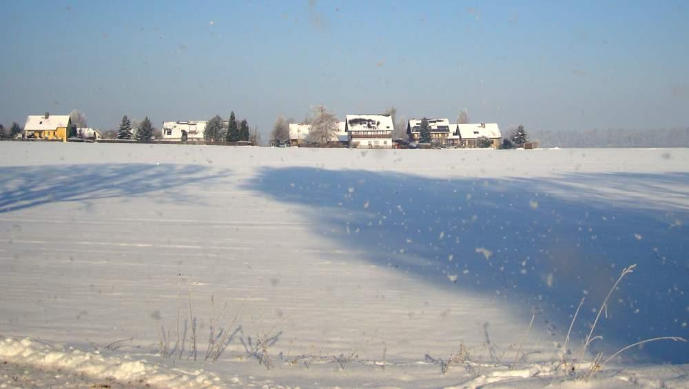 Blick zur Thomas-Müntzer-Siedlung im Ortsteil Holtendorf. Foto: BeierMedia.de