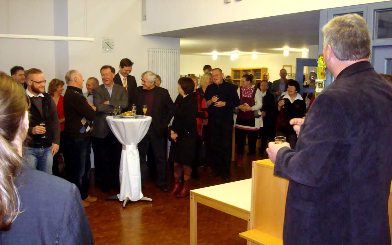 Eröffnung des Markersdorfer Neujahrstreffens 2014