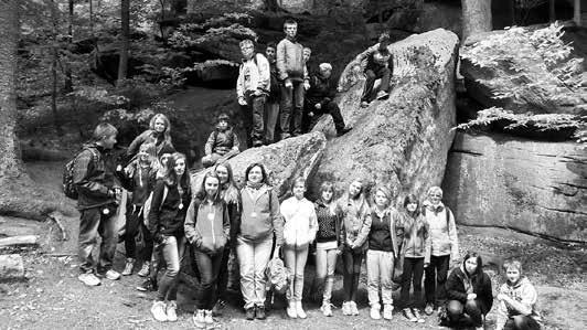 Viel Spaß hatten die Schülerinnen und Schüler im trinationalen Ferienlager der Partnergemeinden im polnischen Krotoszyce.