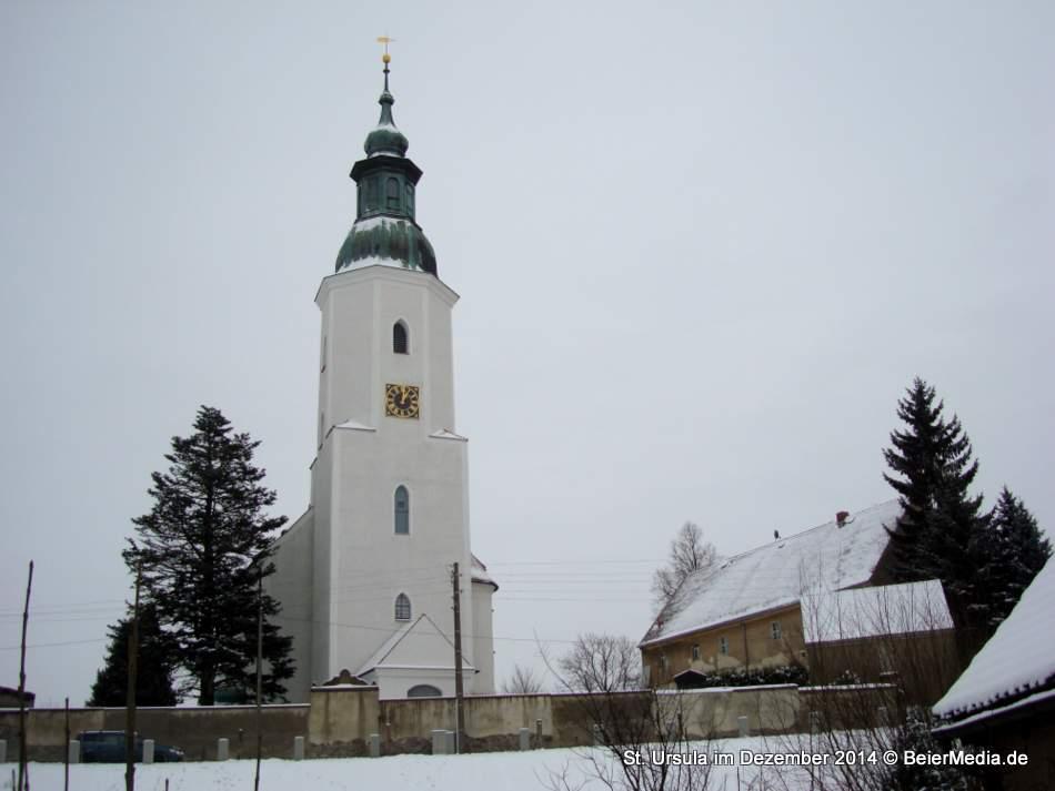St. Ursula zu Friedersdorf am 30. Dezember 2014.