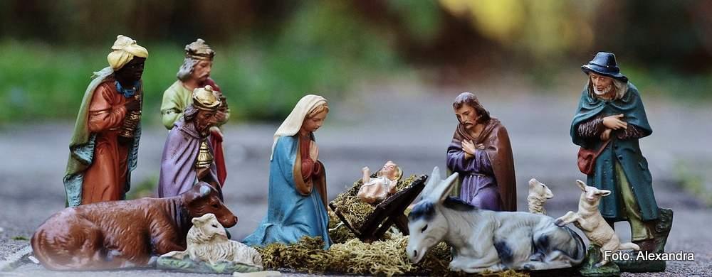 Krippen sind fester Bestandteil des kirchlichen und häuslichen Weihnachtsschmucks.
