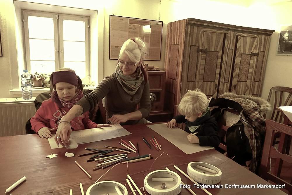 Für die Kinder gibt es beim Markersdorfer Schlachtfest immer besondere Beschäftigungsmöglichkeiten.