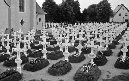 Der Friedhof in Ralbitz / Ralbicy.