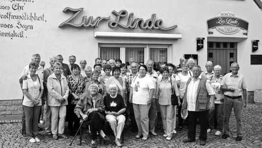 Die reiselustigen Senioren aus Markersdorf.