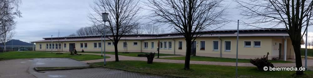 ... liegt nahe der 2017 eröffneten Kindertagesstätte