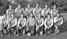 Die Spielgemeinschaftsmännermannschaft Gersdorf/Friedersdorf (3. Platz zur Winterpause)